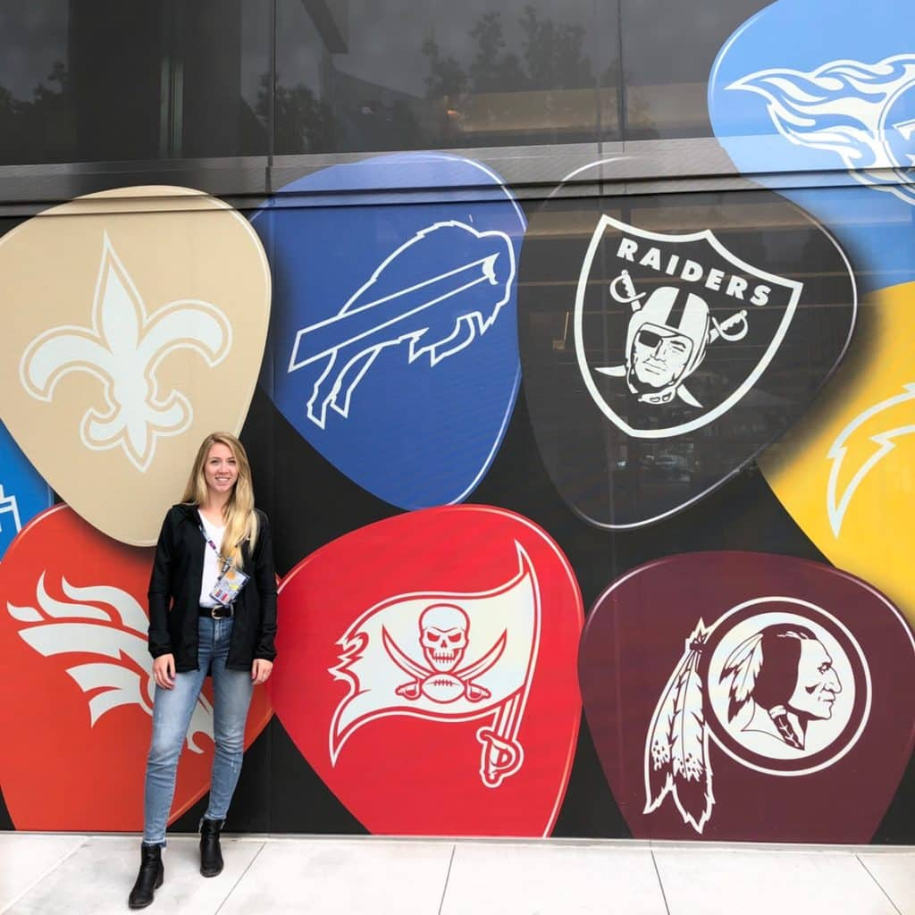 Rachel Ferrell in charge of marketing for NFL Canada.