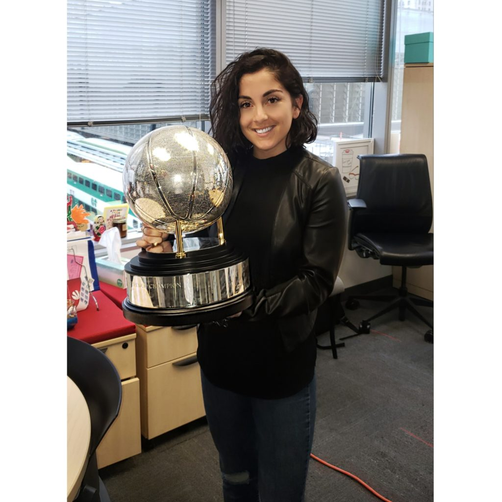 GroundbreakHER Story: Brittney Pagniello, Account Manager of Sales at MLSE