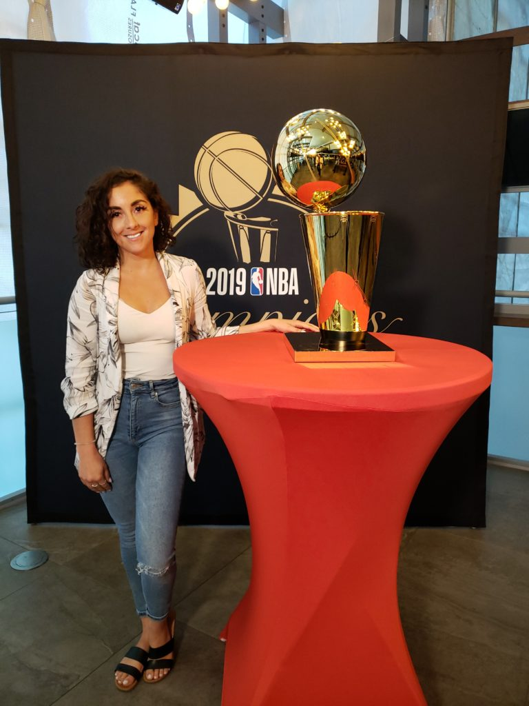 Brittney Pagniello, Account Manager of Sales at MLSE