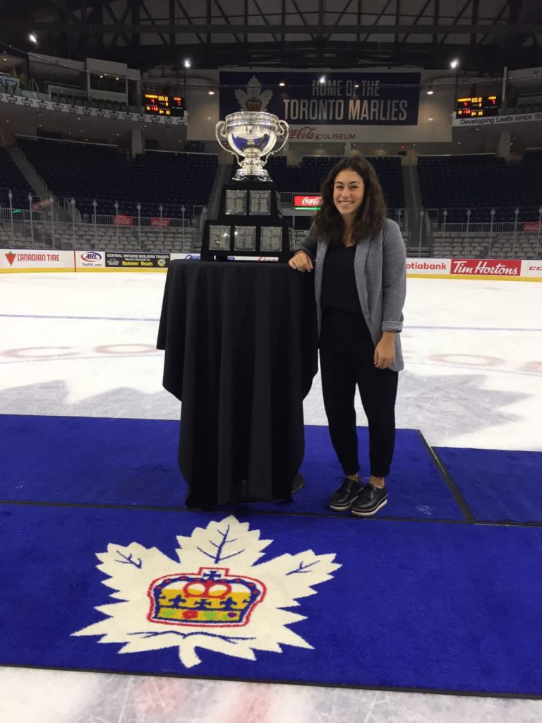 Marlee Shinoff, Account Executive of Membership at MLSE