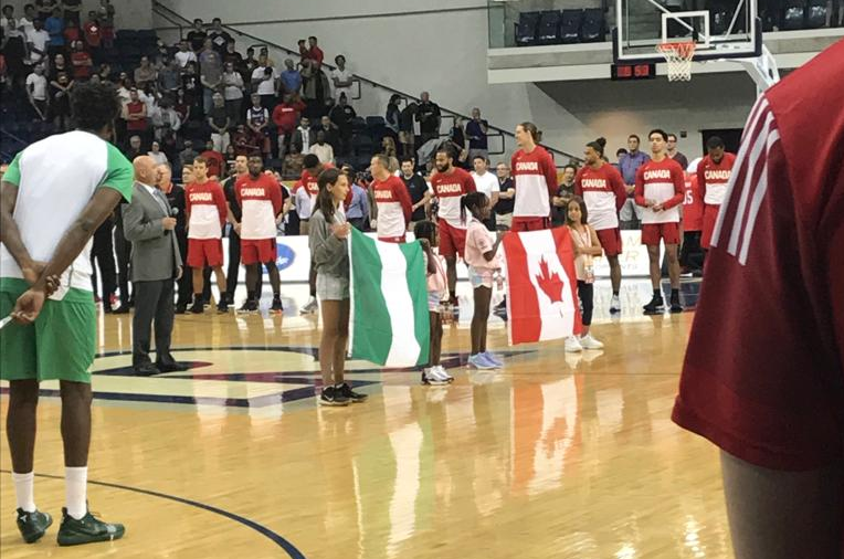 Canada vs. Nigeria Senior Men's Basketball Exhibition Game