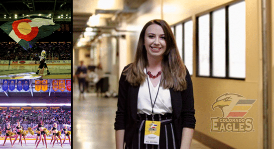 From Intern To Manager, Erin Prueter Manages Game Operations For Colorado Eagles