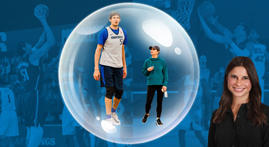 Dallas Mavericks & Renee Felton Shift To Virtual Media Operations Inside The Bubble
