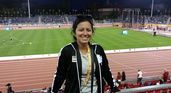 Pay Your Dues Volunteering Like Athletics Canada Manager of National Teams Jessica Scarlato Did