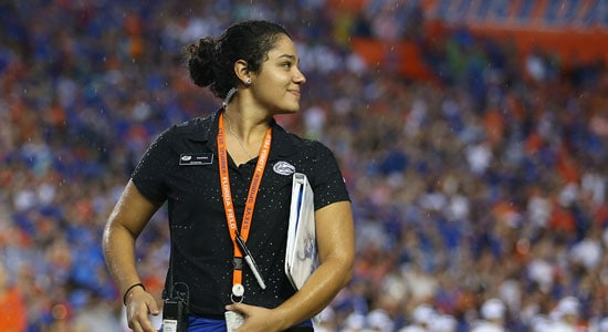 Florida Gators Assistant Director Of Marketing Yanna Pantelis Preps The Swamp To Be As Innovative As Ever