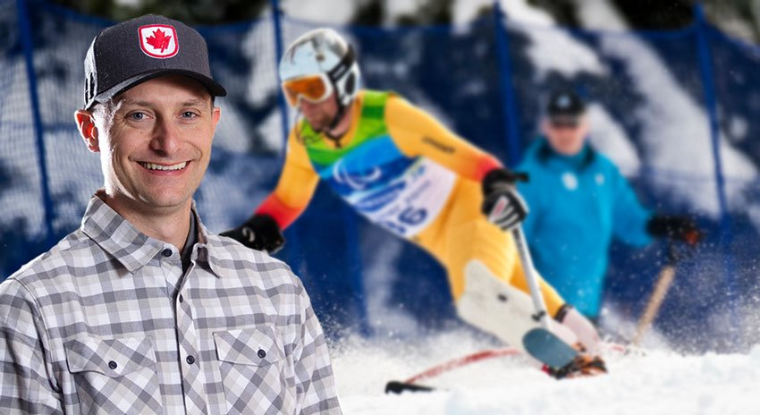 Three Time Paralympian Matt Hallat Transformed His Athletic Career Into A Full-Time Position With Alpine Canada