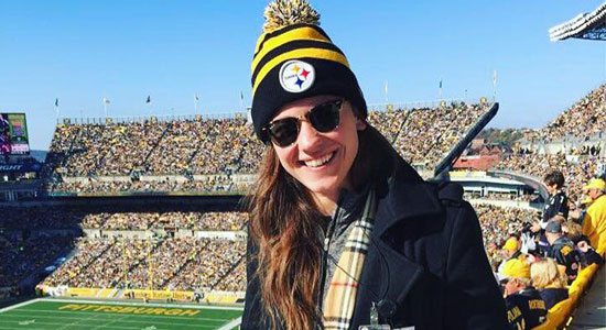 Chelsea Zahn, Pittsburgh Steelers Partnership Activation Manager Shares How To Start Your Career In Sport