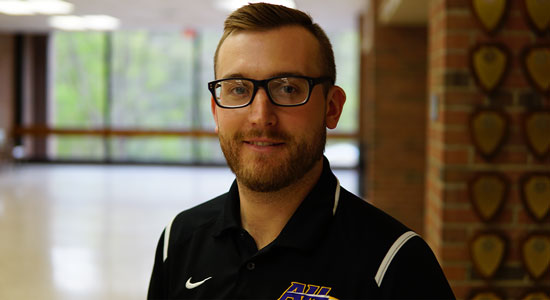 Brandon Harrison Of Alfred State College Prepares Students For A Career In Sport